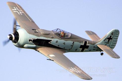 """Dynam Focke Wulf FW-190 1270mm (50"""") Wingspan - PNP . Crédito: Motion RC."""