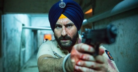Saif Ali Khan vive o policial Sartaj Singh.