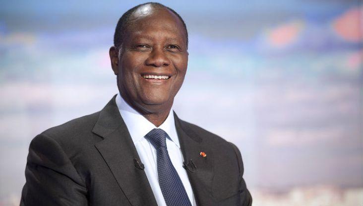 Presidente da Costa do Marfim Alassane Ouattara. Crédito: ThisisAfrica