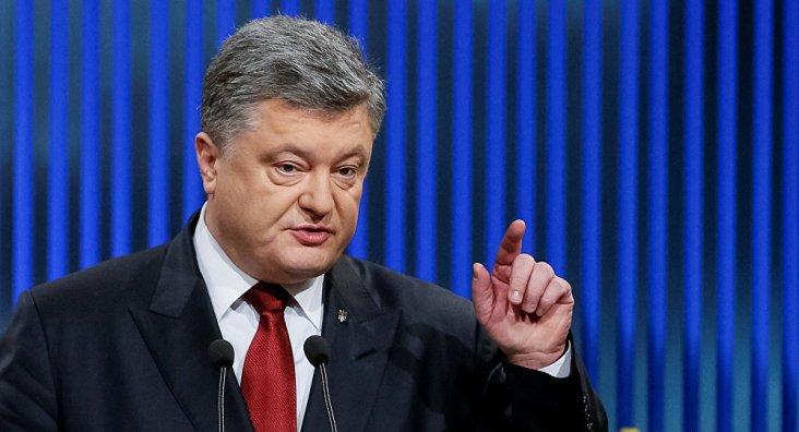 Presidente da Ucrânia Petro Poroshenko. Crédito: Sputnik International.