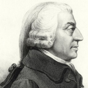 """O filósofo e economista político escocês Adam Smith escreveu """"A riqueza das nações"""", um dos livros fundadores do liberalismo político e econômico.Crédito: biography.com."""