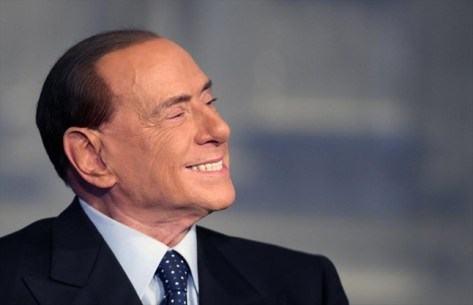 O Ex-Primeiro Ministro italiano Silvio Berlusconi. Crédito: Hamilton Spectator.