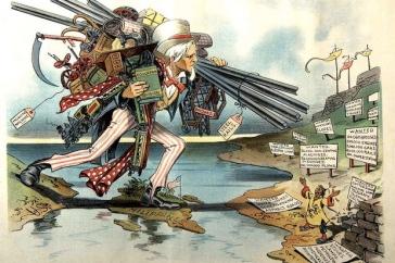 A Pax Americana no seu auge. Crédito: The European.