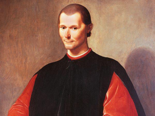 O filósofo e historiador italiano Nicolau Maquiavel é reconhecido mundialmente fundador do pensamento e da ciência política moderna. Crédito: DCM.
