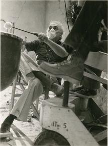 """Federico Fellini em """"Ensaio de Orquestra"""", 1968. Crédito: IMDb."""