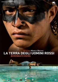 "Cartaz italiano do importante filme ""Terra Vermelha"", que foi exibido no Cineplex Batel. Crédito: Gazeta do Povo"