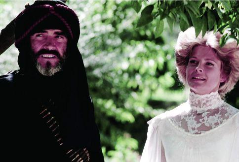 Sean Connery e Candice Bergen. Crédito: IMDb.