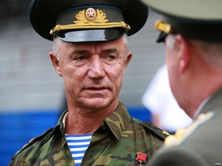 O coronel Valeri Vostrotin. Crédito: RFE/RL