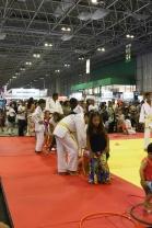 Atividades para os pequenos, envolvendo artes marciais japonesas como o Judo. Crédito: Mariana S. Brites - Revista Intertelas.
