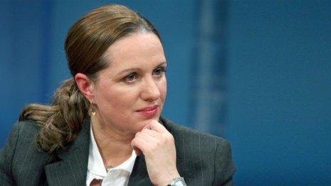 Filha de Ulrike Meinhof, a jornalista Betina Röhl. Crédito: NDR.
