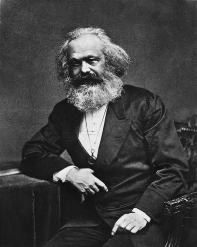 O pensador comunista, economista, filósofo, cientista político, teórico político, historiador e jornalista Karl Marx. Crédito: thegreatthinkers.org