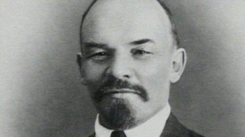 O líder soviético e pensador socialista Vladimir Lenin. Crédito: Famous Biographies.