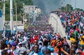 Protestos Haiti 2019. Crédito: Jean Marc Herve Abelard EFE/ El País Brasil