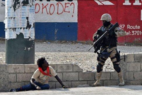 Protestos Haiti 2019. Crédito: Hector Retamal AFP/El País Brasil
