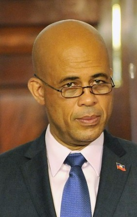 Ex-Presidente Michel Martelly. Crédito: Wikimedia.