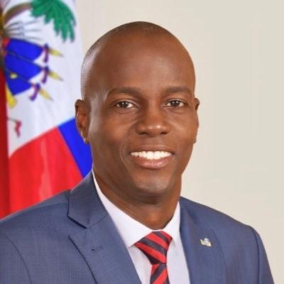 Atual presidente do Haiti, Jovenel Moise. Crédito: twitter.com/moisejovenel.