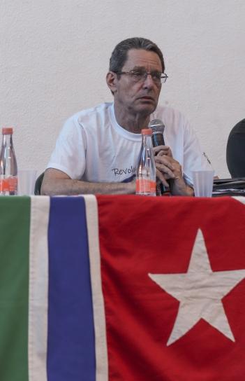 O conselheiro de Cuba Antonio Mata Salas. Crédito: Mariana S. Brites / Revista Intertelas.