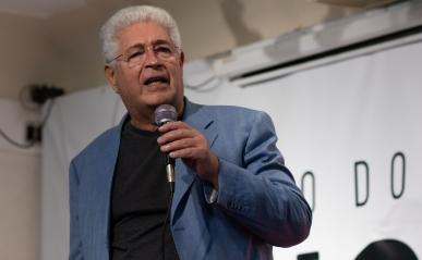 O ex-senador do Paraná pelo Movimento Democrático Brasileiro Roberto Requião. Crédito: Mariana S. Brites/Revista Intertelas