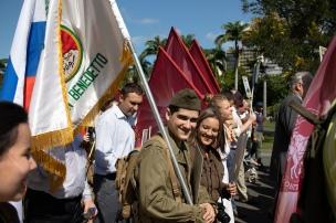 Regimento Imortal e Força Expedicionária Brasileira, 5 de maio de 2019. Crédito: Mariana S. Brites/Revista Intertelas.
