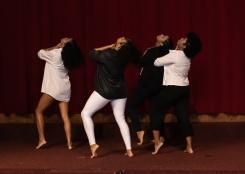 O grupo de dança da Escola Técnica Estadual Adolpho Bloch - ETEAB/FAETEC. Crédito: Mariana S. Brites / Revista Intertelas.