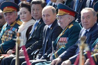 O presidente Chinês Xi Jinping convidado especial na parada em comeração ao Dia da Vitória da URSS sobre os nazistas. Crédito: ABC.