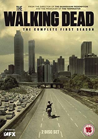 Poster do seriado The Walking Dead. Crédito: Amazon.
