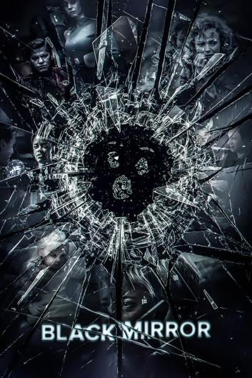 Poster do seriado Black Mirror. Crédito: https://myhotposters.com