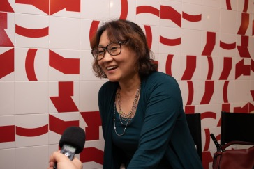 A tradutora e professora da USP Yun Jung Im. Crédito: Mariana S. Brites/Revista Intertelas.