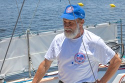 O marinheiro Nikolai Gregorovitch.Crédito: Mariana S. Brites/Revista Intertelas.