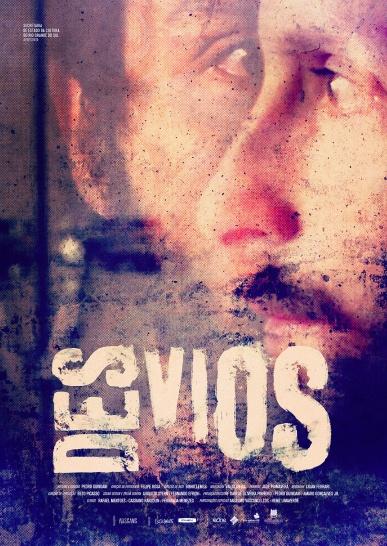 "Cartaz de ""Desvios"" (2016), de Pedro Guindani. Crédito: Leo Lage/Skyline_Ausgang_Cinex."