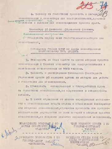 Carta do Alto Comando Soviético. Crédito: http://berlin75.mil.ru