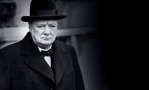 Winston Chirchill foi primeiro-ministro britânico por duas vezes. Crédito: zarinhaead.