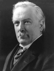 David Lloyd George, Estadista britânico que serviu como primeiro ministro do Reino Unido de 1916 a 1922. Crédito: United States Library of Congress's Prints and Photographs division.